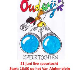 21 juni speurtocht – 16:00 Van Alpenplein